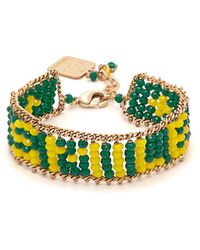 Rosantica By Michela Panero - Smile Beaded Bracelet - Lyst
