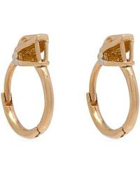 Marc Alary - Diamond, Pearl & Pink-gold Earrings - Lyst
