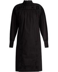 Isabel Marant | Samuel High-Neck Cotton Dress | Lyst