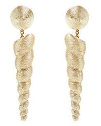 Rebecca de Ravenel - Iris Clip-on Earrings - Lyst