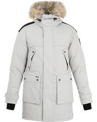 Nobis - Yatesy Fur-trimmed Down-filled Parka - Lyst
