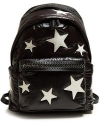 Stella McCartney - Falabella Go Padded Eco-nylon Backpack - Lyst