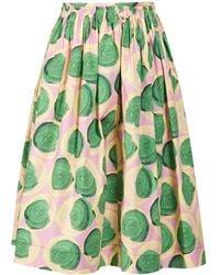 Marni Paranoic Print Skirt