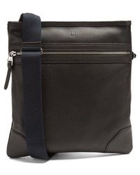 Dunhill - Boston Leather Messenger Bag - Lyst