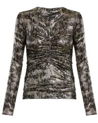 Isabel Marant - Diego Ruched Top - Lyst