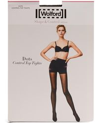 Wolford - Dots Control-top Tights - Lyst