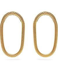 Fernando Jorge - Yellow Gold Parallel Earrings - Lyst