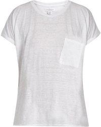 Velvet By Graham & Spencer - Denice Patch-pocket T-shirt - Lyst