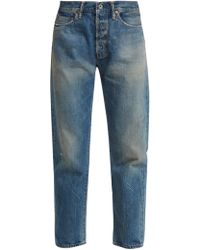 Chimala - Selvedge Denim Straight Leg Jeans - Lyst