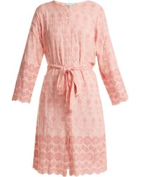 Melissa Odabash - Cecilia Broderie Anglaise Dress - Lyst