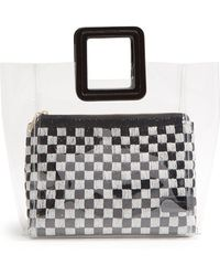 STAUD - Shirley Sequinned & Pvc Tote Bag - Lyst