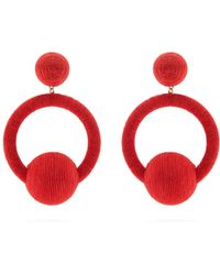 Rebecca de Ravenel - Linda Hoop-drop Earrings - Lyst