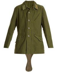 MYAR - 1959 M59 Swedish Army Combat Cotton Jacket - Lyst