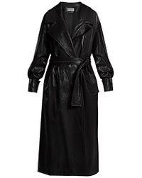 Wanda Nylon - Oversized Coated Trench Coat - Lyst