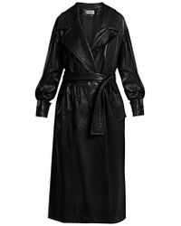 Wanda Nylon - Oversized Coated Trench Coat - Lyst