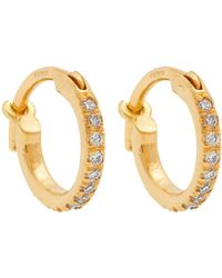 Ileana Makri - - Diamond & Yellow Gold Earrings - Womens - Yellow Gold - Lyst