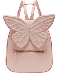 Sophia Webster - Kito Butterfly Appliqued Leather Backpack - Lyst