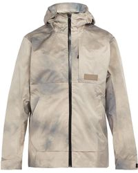Pam - Wave Dye Waterproof Hooded Jacket - Lyst