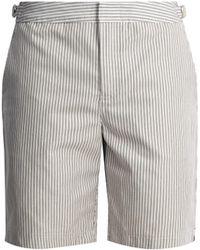 Orlebar Brown | Dane Ii Striped Mid-length Shorts | Lyst