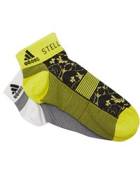 adidas By Stella McCartney - Set Of 2 Flower Print Socks - Lyst