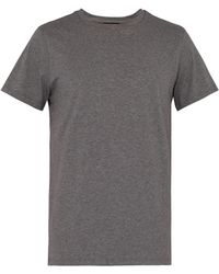 A.P.C. - Jimmy Cotton Jersey T Shirt - Lyst