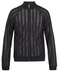 Cottweiler - Zip-through Pleated-lace Track Top - Lyst