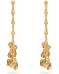 Givenchy - Textured Drop Earrings - Lyst