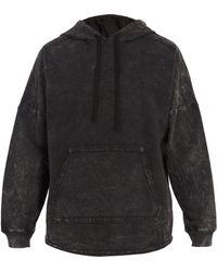 True Religion - Void Tactics Washed Cotton Hooded Sweatshirt - Lyst