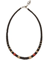 Saint Laurent - Retro Beach Beaded Necklace - Lyst