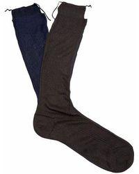 Raey - Frankenstein Silk Socks - Lyst