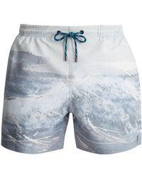 Marané - The Splash Print Swim Shorts - Lyst