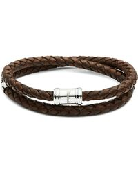 Miansai - Casing Braided Leather Bracelet - Lyst