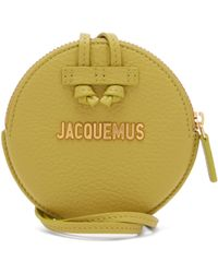 Jacquemus - Le Pitchou Leather Coin Purse Necklace - Lyst