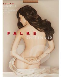 Falke - - Shelina Transparent 12 Denier Tights - Womens - Nude - Lyst