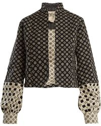 Ace & Jig - Jude Stand-collar Cotton Jacket - Lyst
