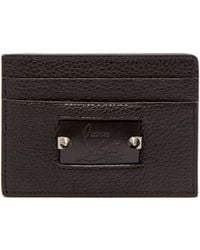 Christian Louboutin - Empire Grained Leather Cardholder - Lyst