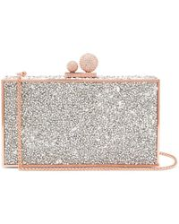 Sophia Webster - Clara Crystal-embellished Clutch Bag - Lyst