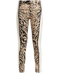 Haider Ackermann - Panelled Leopard Print Tweed Trousers - Lyst