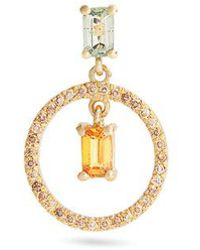 Ileana Makri - Diamond & Yellow-gold Earring - Lyst