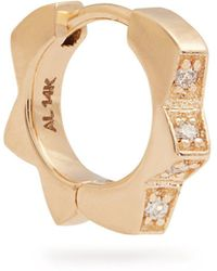 Alison Lou - Diamond & Yellow-gold Stelle Single Earring - Lyst