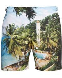 eb6e6da5f32ce Orlebar Brown Bulldog Roc Pool Photographic-print Swim Shorts in ...
