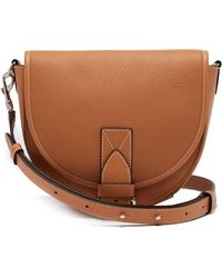 JW Anderson - Bike Leather Saddle Cross Body Bag - Lyst