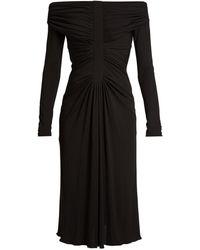 Altuzarra - Imogene Off-the-shoulder Jersey Dress - Lyst