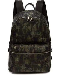 Dolce & Gabbana - Vulcano Camouflage Print Backpack - Lyst