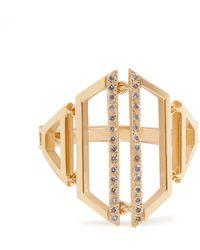 Susan Foster - Diamond & Yellow-gold Ring - Lyst