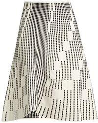 Roland Mouret - Wilson Textured-knit Skirt - Lyst