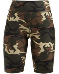 The Upside - Camouflage Print Performance Shorts - Lyst