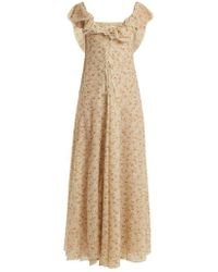 Brock Collection - Dora Floral Print Tulle Dress - Lyst