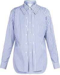 Comme des Garçons - Patchwork Collared Shirt - Lyst