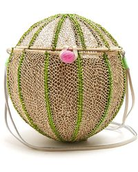 Sophie Anderson - Meylin Woven-toquilla Cross-body Bag - Lyst